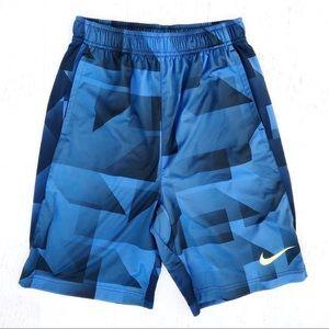 Blue Boys Nike Dri Fit Shorts Size XL